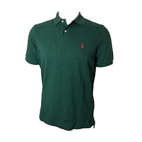 Polo Ralph Lauren Men's Classic Fit Mesh Polo Shirt (XX-Large, Pine Green)