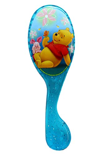 - Hairbrush Disney's Winnie The Pooh and Piglet Blue Hard Plastic Full Size Kids