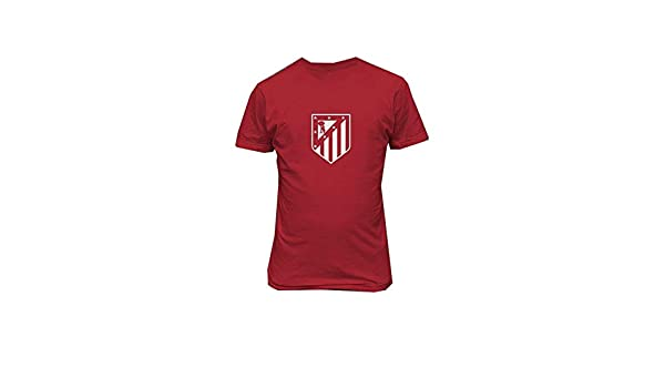 Amazon.com: Nice-T Atletico de Madrid España Camiseta Futbol Mens Custom T Shirts: Clothing