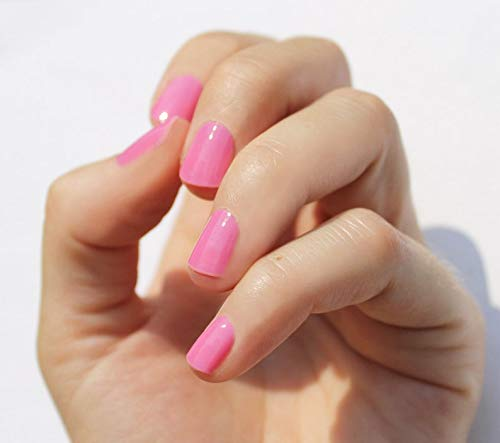 Solid Pink Nail Wraps by Nail Wraps