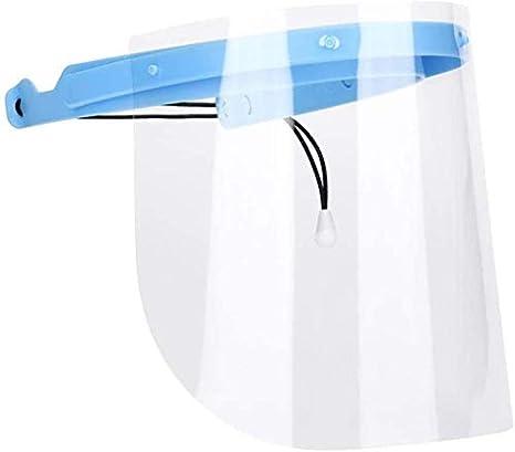 4 PCS Anti-fog Empty Top Cap Full Face Splash proof Face Protective shield vn