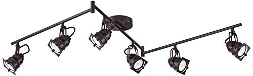 Hamilton 6-Light Bronze Swing Arm LED Track Light Kit - Pro Track by Pro Track (Image #6)