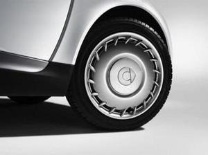 Auténtica Smart Cover Coche de rueda PLATA Hub Cap 451 Fortwo 4514010224 C20L - Caja de herramientas: Amazon.es: Coche y moto