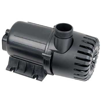 Danner Supreme 02581 Hy Drive 2600 GPH Pump for Freshwater Ponds and Aquariums - Inline and Submersible, Indoor and Outdoor, 20 Foot Cord, Energy Efficient, Quiet