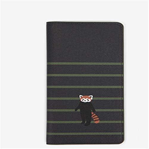 SEVENHOPE パスポートパッケージ カートゥーン財布 旅行ドキュメントフォルダー ロングカードホルダー カードバッグ 22*10cm DFGGJHK85