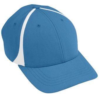 Flexfit Zone Cap - Youth - Style 6311 - COLUMBIA BLUE WHITE at ... 8291fc21146