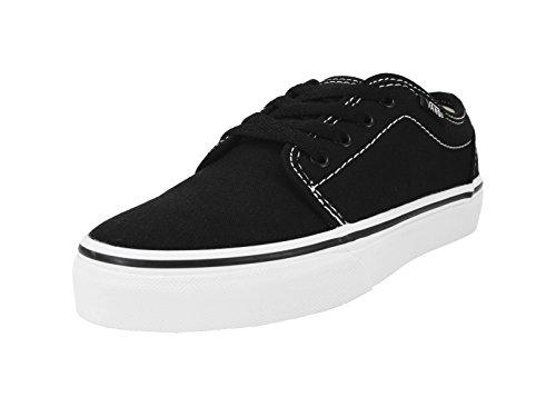 Vans Kids/Youth 106 Vulcanized Black/White Skate Shoes Boys/Girls Sneakers (1.5)