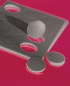 Dycem Self-Adhesive Discs - 5/8'' dia - 12 ea - Black