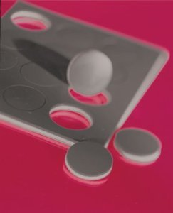 Dycem Self-Adhesive Discs - 5/8'' dia - 12 ea - Black by Dycem