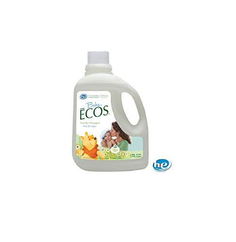 (Earth Friendly Products 170 oz. Disney Baby Free and Clear Liquid Laundry Detergent)