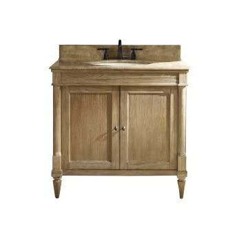 Fairmont Designs 142 V36 Rustic Chic 36 Inch Vanity In Weathered Oak