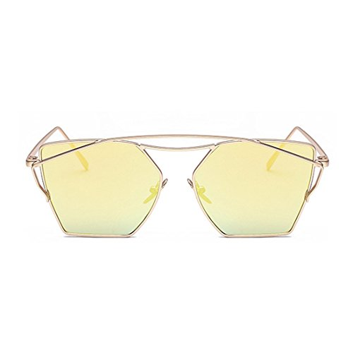 Fashion Cateye Classic Sunglasses for Womens and Mens Flash Mirror - Sale For Sunglasses Weird