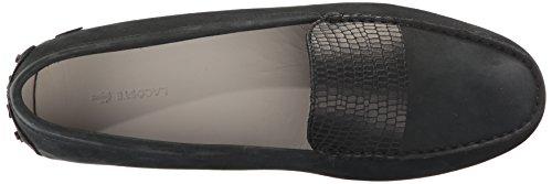 Lacoste Women's Couvel 317 1 Fashion Shoe Sneaker, Black, 6.5 M US