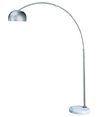 Trend Lighting Mid Arc Floor Lamp, Brushed Nickel ()