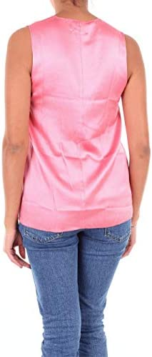 JUCCA Luxury Fashion Donna J2912119LROSA Rosa Tank Top | Stagione Outlet