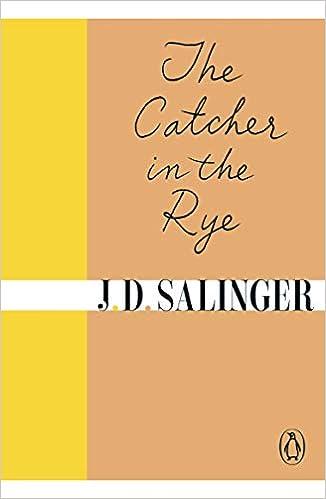 The Catcher in the Rye: Amazon co uk: J  D  Salinger