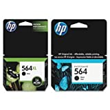 HP HP 564XL Inkjet Cartridge, 550 Page Yield, Black (CN684WN)