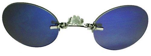 Lunettes Miroir Transparent Argenté Subke Bleu Nez Pince xzZwvBn4qH