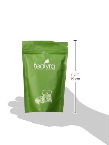 Tealyra Premium White Silver Needle Tea Caffeine Level Low 4-ounce Organically Grown in Fujian China Superior Chinese Silver Tip White Tea 110g Loose Leaf Tea Bai Hao Yinzhen
