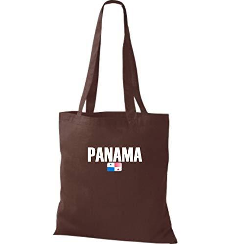 Land Panamá Shirtstown De Países Bolsa Fútbol Tela Chocolate Yute qXXpxAPwU6