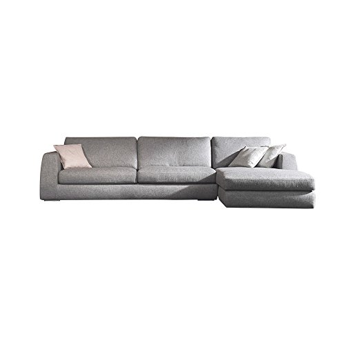 Ucofor S796 Customized Dark Gray Modern Minimalist Removable and Washable Corner Fabric Sofa for Big Department