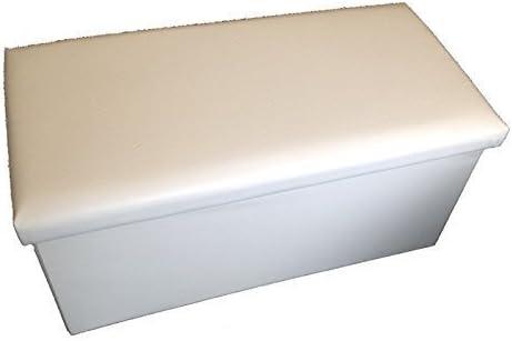 GMMH Taburete Asiento 76 x 38 x 38 cm Box – Caja Puf Baúl Soporte Banco Plegable Soporta hasta 300 kg: Amazon.es: Hogar