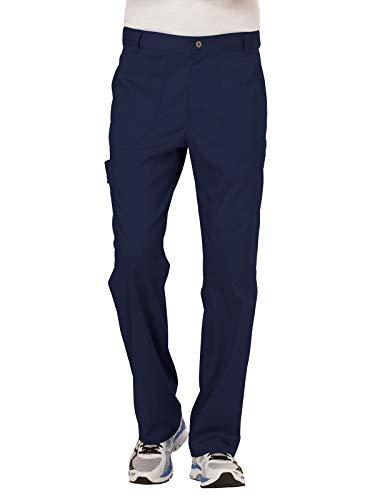 Cherokee Men's Fly Front Pant, Navy, Medium