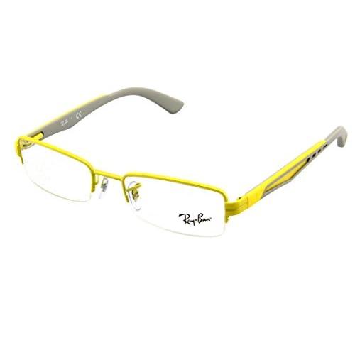 d598ae5af2 Ray Ban Montura de Gafas RX 6264 2798 amarillo 49MM Chic - www ...