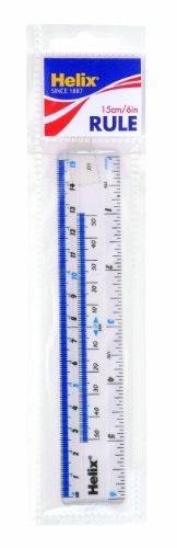 Helix-Shatter-Resistant-Ruler-6-Inch-15cm-10011