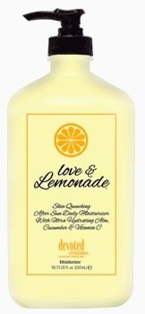 Love & Lemonade Moisturizer by Devoted Creation 18.75 oz.