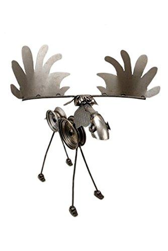 Yardbirds Junkyard Metal Critters - Large 4' Moose - (Yardbirds Moose)