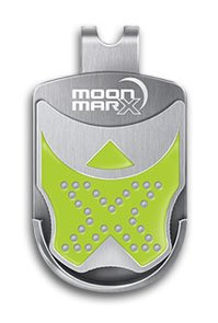 Moonmarx Golf Ball Marker and Putt Aligner with Magnetic Clip (Green). Patented ball marker. Conforms to USGA standards. 30 - Magnetic Ball Marker