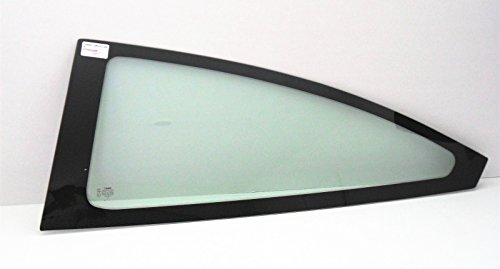 (NAGD Fits 2000-2007 Ford Focus 2 Door Hatchback Driver Left Side Rear Quarter Glass Quarter Window W/Rubber Seal)