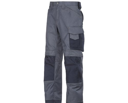 Snickers 33129595112 DuraTwill Pantalon d'artisan Taille 112 Bleu Marin