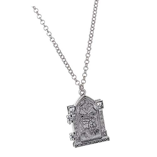 - Punk Memorial Charms Photo Picture Frame Locket Pendant Chain Necklace Jewelry Crafting Key Chain Bracelet Pendants Accessories Best