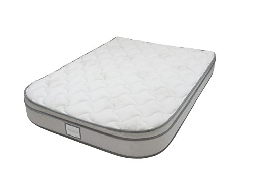 Denver 326389 Narrow King Size RV Supreme Euro Top Mattress with Radius Corners White