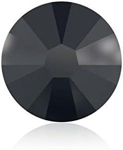 Cristales de Swarovski 1108757 Piedras Strass No Hotfix 2058 SS 7 Jet HEMAT F, 1440 Piezas