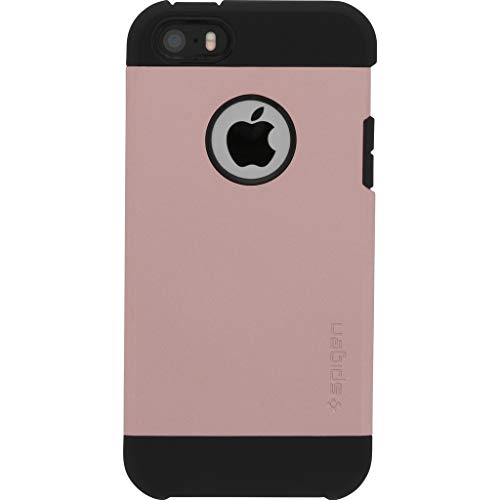 Spigen Tough Armor Designed for Apple iPhone SE Case (2016) - Rose Gold