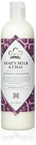 Body Lotion Goat's Milk & Chai Nubian Heritage 13 oz Lotion