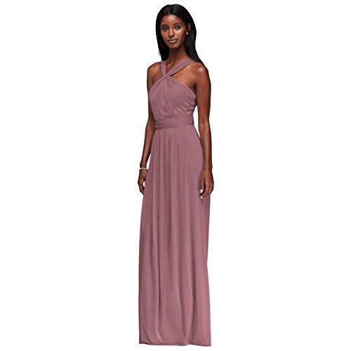 Quartz Y Long Neck W11173 Mesh Bridal David's Dress Bridesmaid Style 5RBHzz