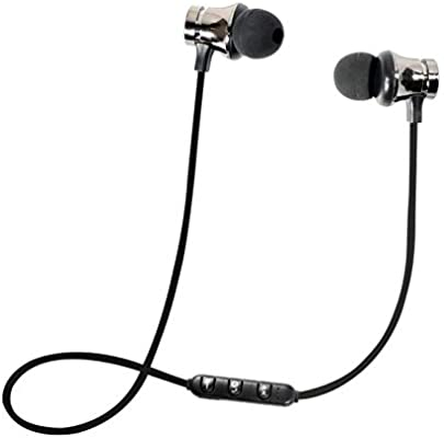 SamMoSon 2019 Auriculares Deportivos Bluetooth con Microfono Bluetooth, Auriculares Estéreo Bluetooth 4.2 Auriculares Estéreo Inalámbricos Auriculares ...