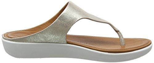 metallic metallic Banda Toe 527 Bout Sandals Fitflop thong Argenté Ii Silver Femme Ouvert 6dwqX6v