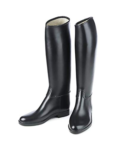 Ovation Ladies Cottage Derby Lined Rubber Riding Boots, Black, 6