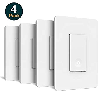 Smart Light Switch-4pack