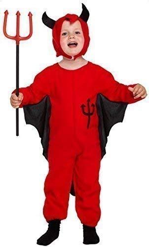 ultimo stile miglior sito migliori marche Bambini Diavolo Rosso Abito Costume Halloween Age 3 anni ...