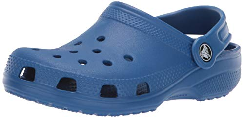 Crocs Kids' Classic Clog, blue jean, 6 M US Toddler by Crocs (Image #1)