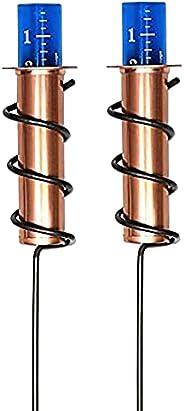 Medidor de Chuva de cobre, gabarito de Chuva de bóia de precisão, usado para Jardim Ao ar livre, relvado, pais