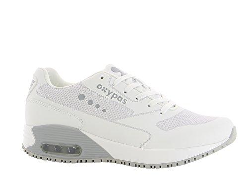 Oxypas Oxysport Ela Trainer UE blanca Blanco con gris