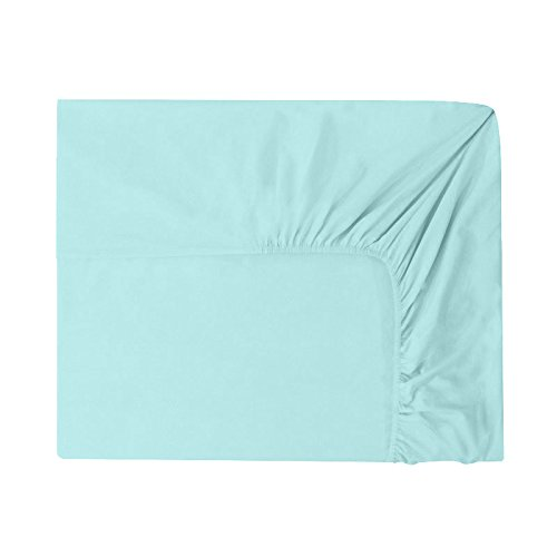 Essix-Home-Collection-lenzuolo-con-angoli-in-cotone-140-x-200-cm-azzurro