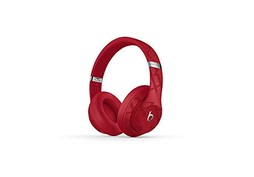 Beats Studio3 Wireless Noise Cancelling Over-Ear Headphones – NBA Collection – Rockets Red